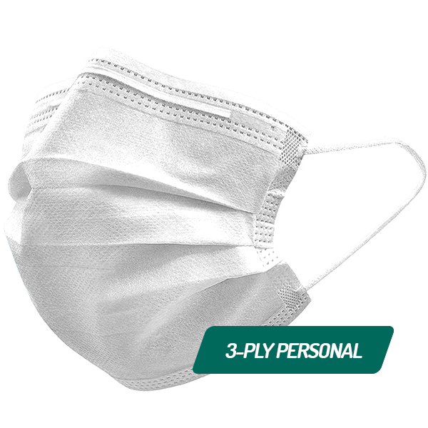 PPE 3-Ply Personal Mask