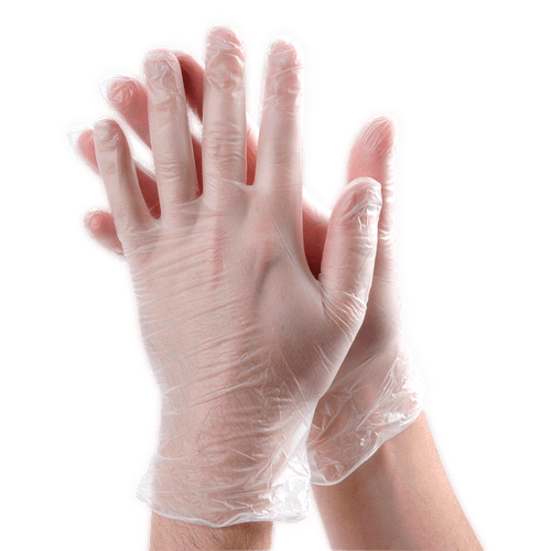 Latex Free - Vinyl Disposable Gloves