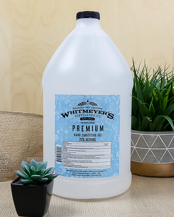 Whitmeyer's 1 Gallon Premium Hand Sanitizer Gel