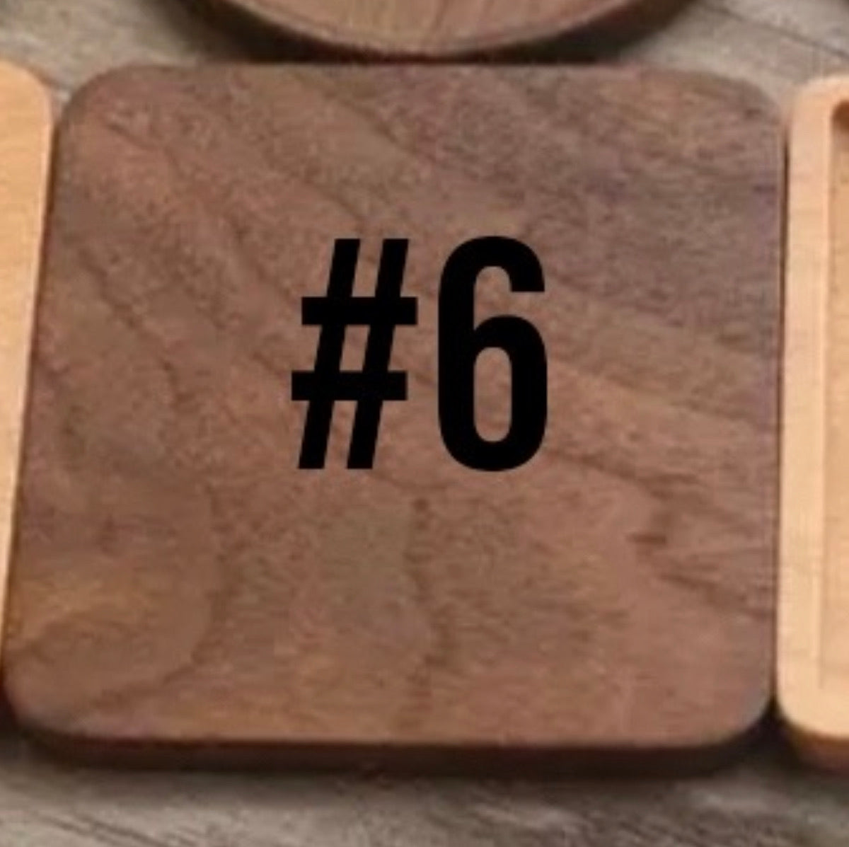 Wooden Coaster Blanks