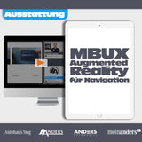 MBUX Augmented Reality für Navigation