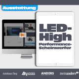 LED High Performance-Scheinwerfer