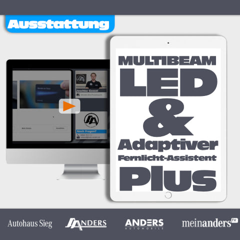 MULTIBEAM LED & Adaptiver Fernlicht-Assistent Plus