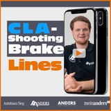 CLA Shooting Brake Lines