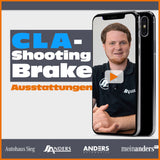 CLA Shooting Brake Ausstattungen