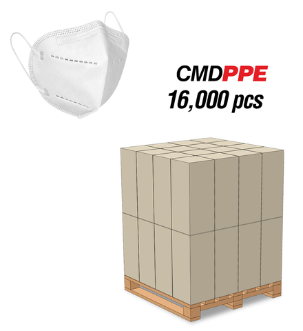 KN95<br>Particulate Respirator Mask<br>16,000pc Pallet