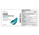 Hand Sanitizer Gel<br>70% Ethanol<br>4 Bottles Carton