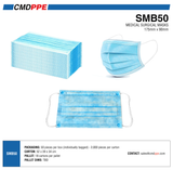 SMB<br>Surgical Mask<br> 50pc Box