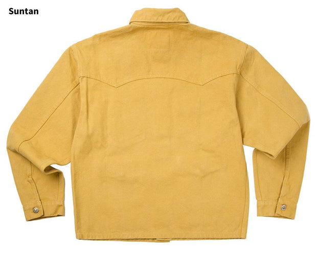 Mesquite Brush Jacket in Suntan (light brown), back