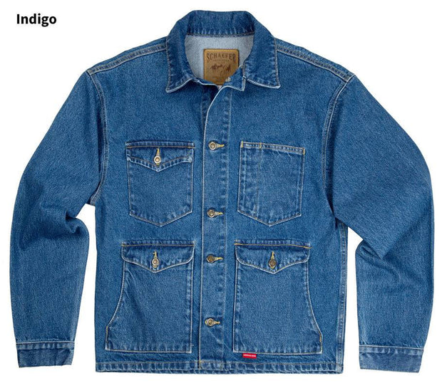 Denim Mesquite Jacket in Indigo (denim), front