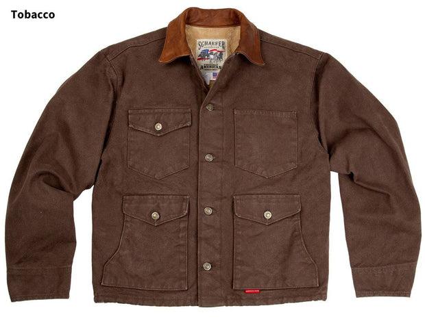 Ranchero Mesquite Brush Jacket in Tobacco (brown), front