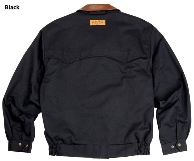 Lodge Cruiser Jacket in Black, back