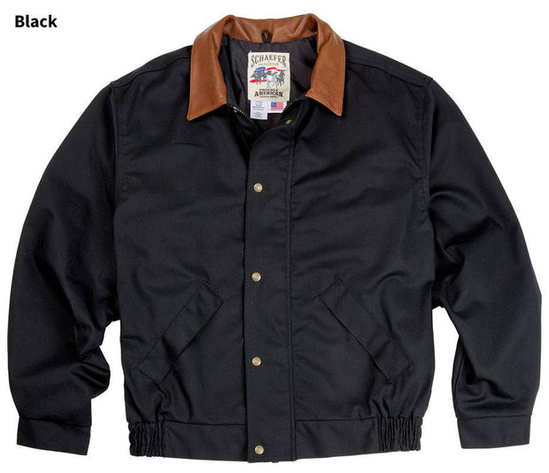 Lodge Cruiser Jacket in Black, front