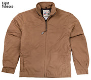 Fenceline Arena Jacket in Light Tobacco (light brown), front