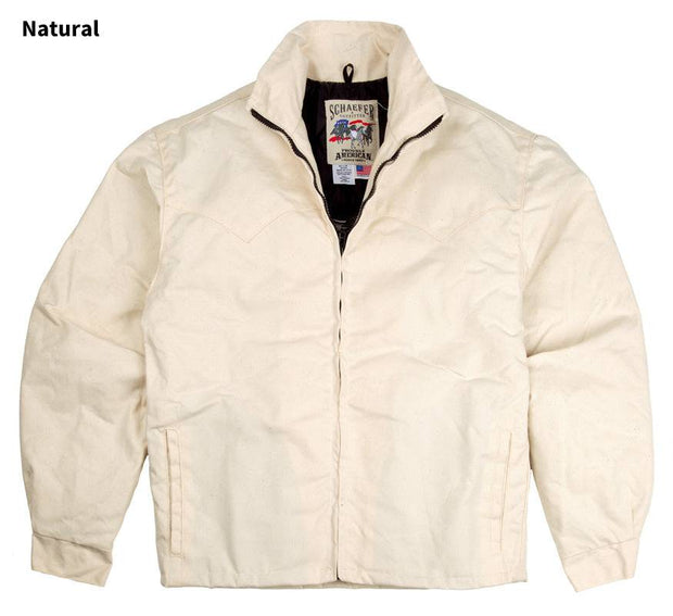 Fenceline Arena Jacket in Natural (white), front