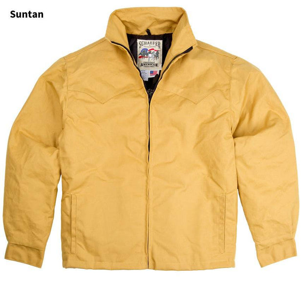 Fenceline Arena Jacket in Suntan (light brown), front