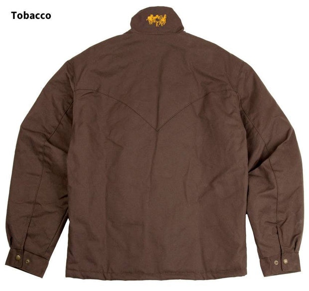 Fenceline Arena Jacket in Tobacco (brown), back