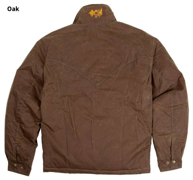 RangeWax Arena Jacket in Oak (brown), back