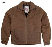 RangeWax Arena Jacket in Oak (brown), front
