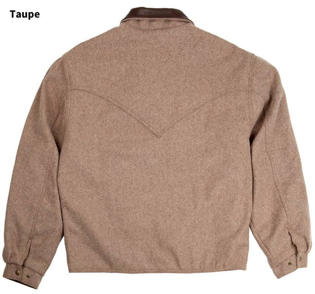 Summit Jacket in Taupe (light brown-grey), back