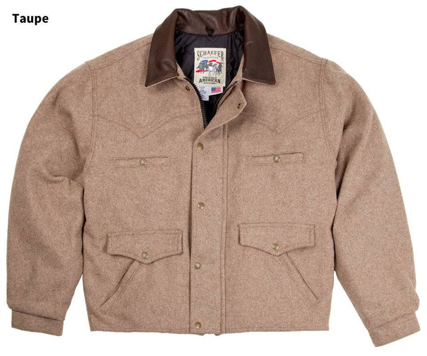 Summit Jacket in Taupe (light brown-grey), front