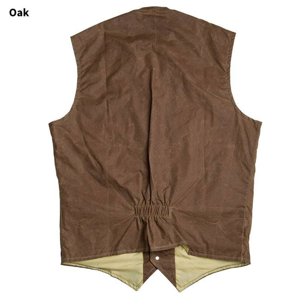 RangeWax Ranger Vest in Oak (brown), back