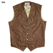 RangeWax Ranger Vest in Oak (brown), front