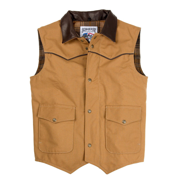 Cattleman Vest w/Quilted Insulative Lining