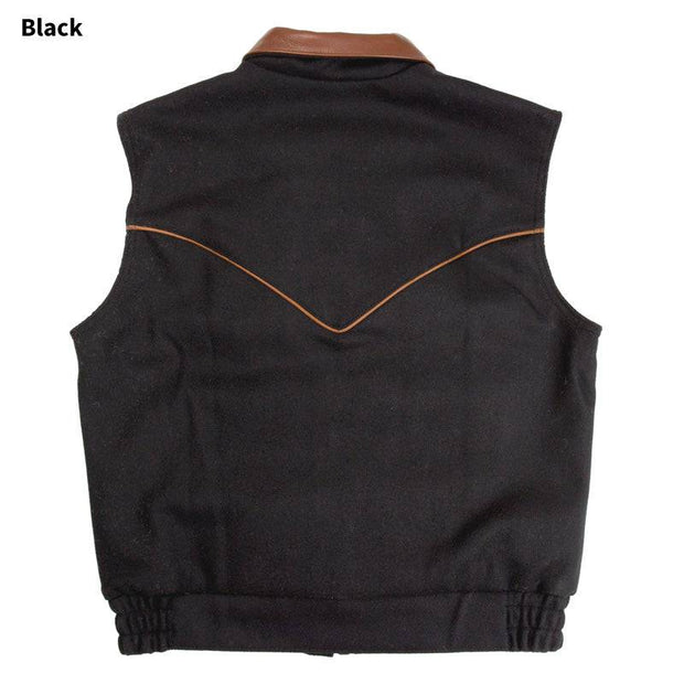 Competitor Vest in Black, back