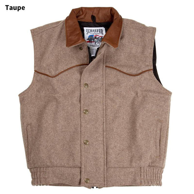 Competitor Vest in Taupe (light brown-grey), front