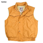 Catamount Vest in Suntan (light brown), front