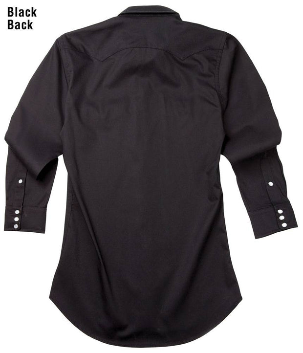 Remuda Ranch Western Shirt in Black, back