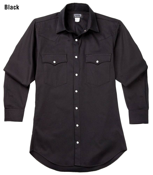 Remuda Ranch Western Shirt in Black, front