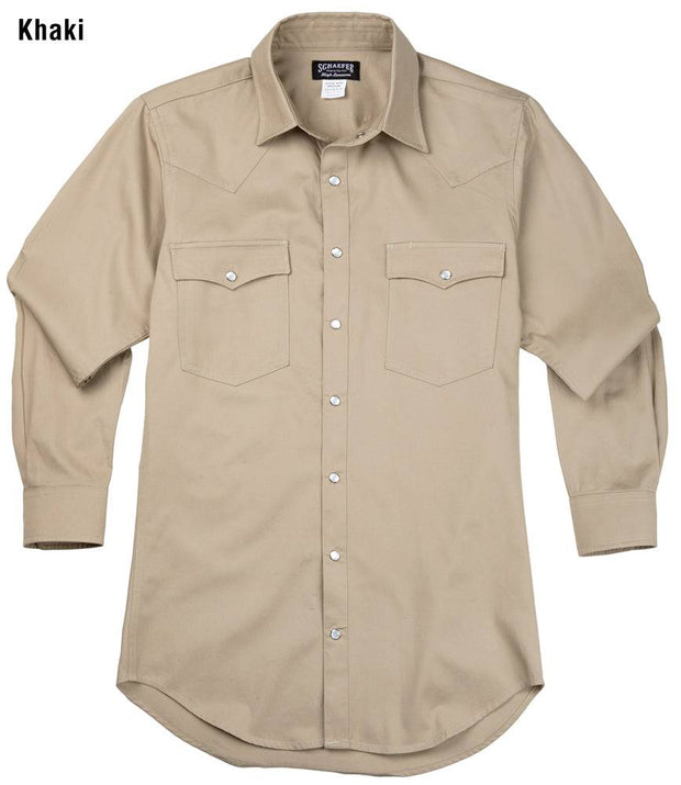Remuda Ranch Western Shirt in Khaki, front