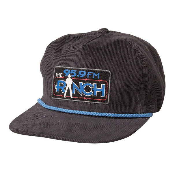 The Official Ranch Navy Corduroy 5-Panel - NEW!