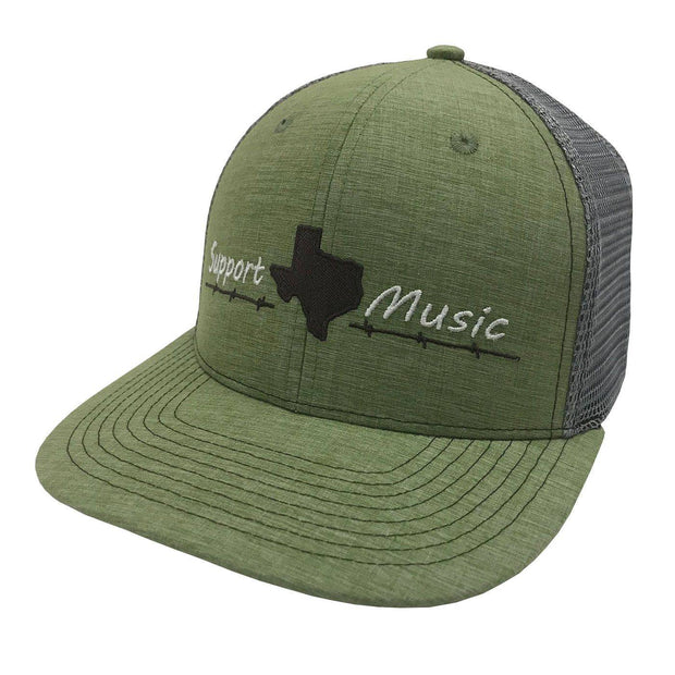 Support Texas Music Lime - NEW!