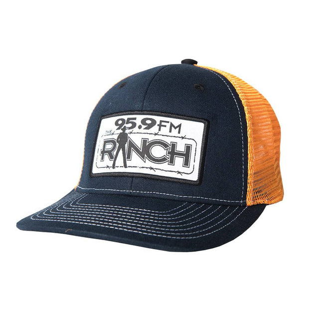 The Official Navy trucker hat, front