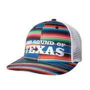 Sound Of Texas Serape trucker hat, front