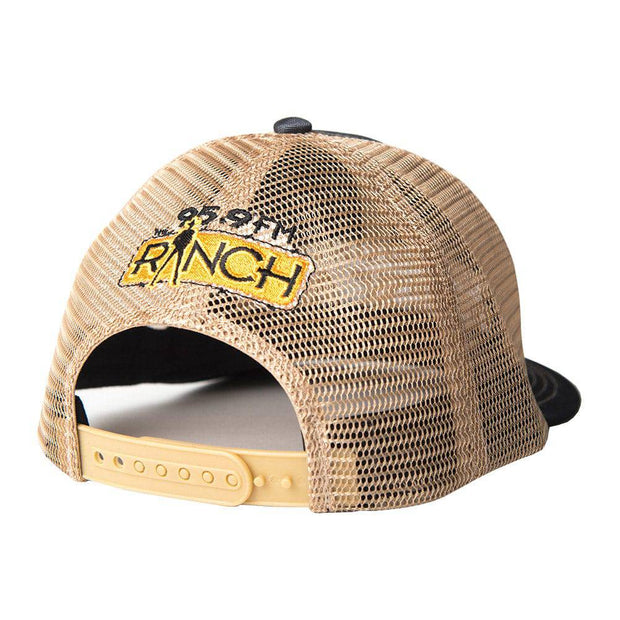 Sound Of Texas Charcoal trucker hat, back