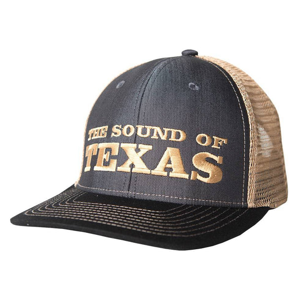 Sound Of Texas Charcoal trucker hat, front