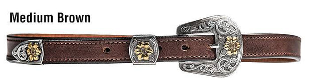 San Antone Belt in Medium Brown