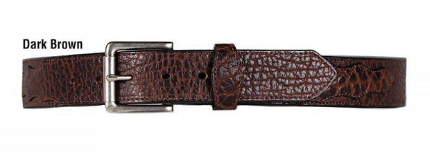 Bison Range Belt in Dark Brown