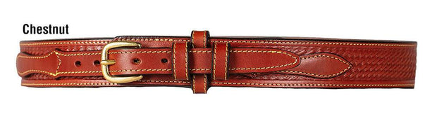 El Paso Ranger Belt in Chestnut