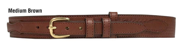 El Paso Ranger Belt in Medium Brown