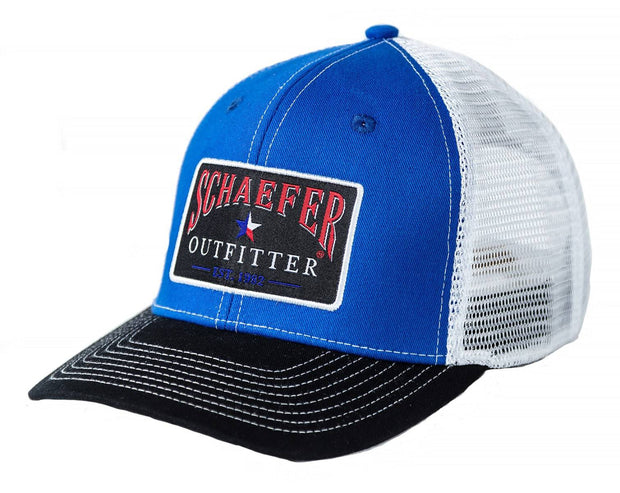 The Official Trucker in Tri-Color, front