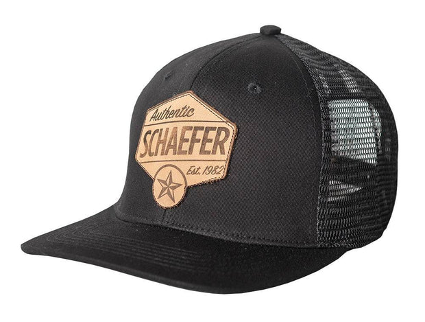 The Texas Star Trucker - Black/Black