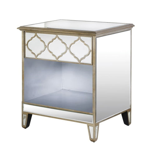 Gold Venetian Shelf Bedside