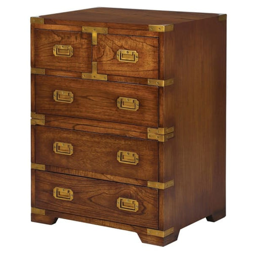 Wellington 5 Drawer Bedside