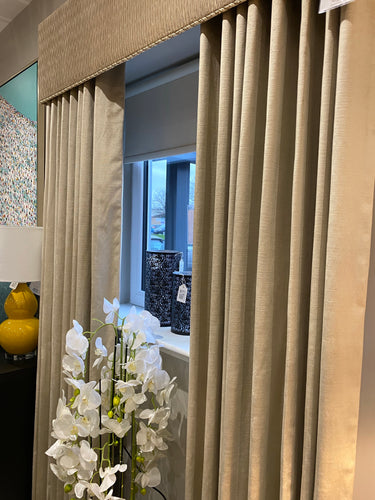 Panaz 'Indulgence Pearl' Velvet Curtains
