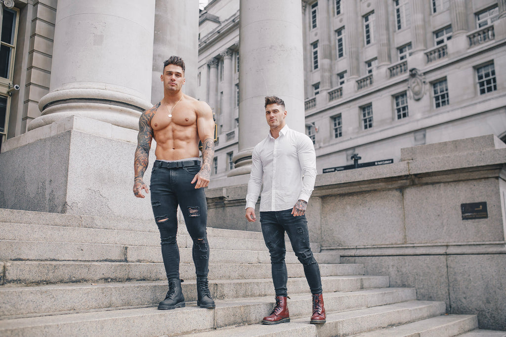 Muscle Fit Shirts - A New Era: Tapered Fit Shirts on The Harrison Twins